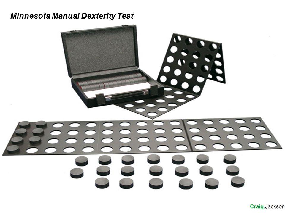 Minnesota Manual Dexterity Test