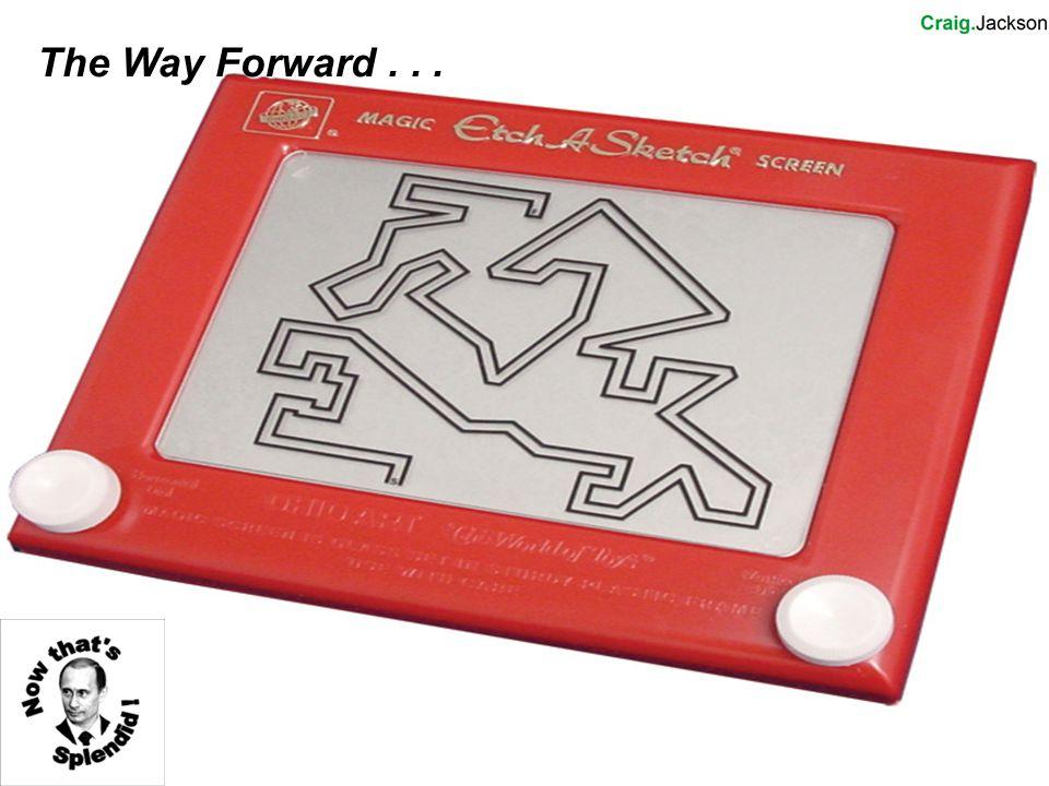 The Way Forward...