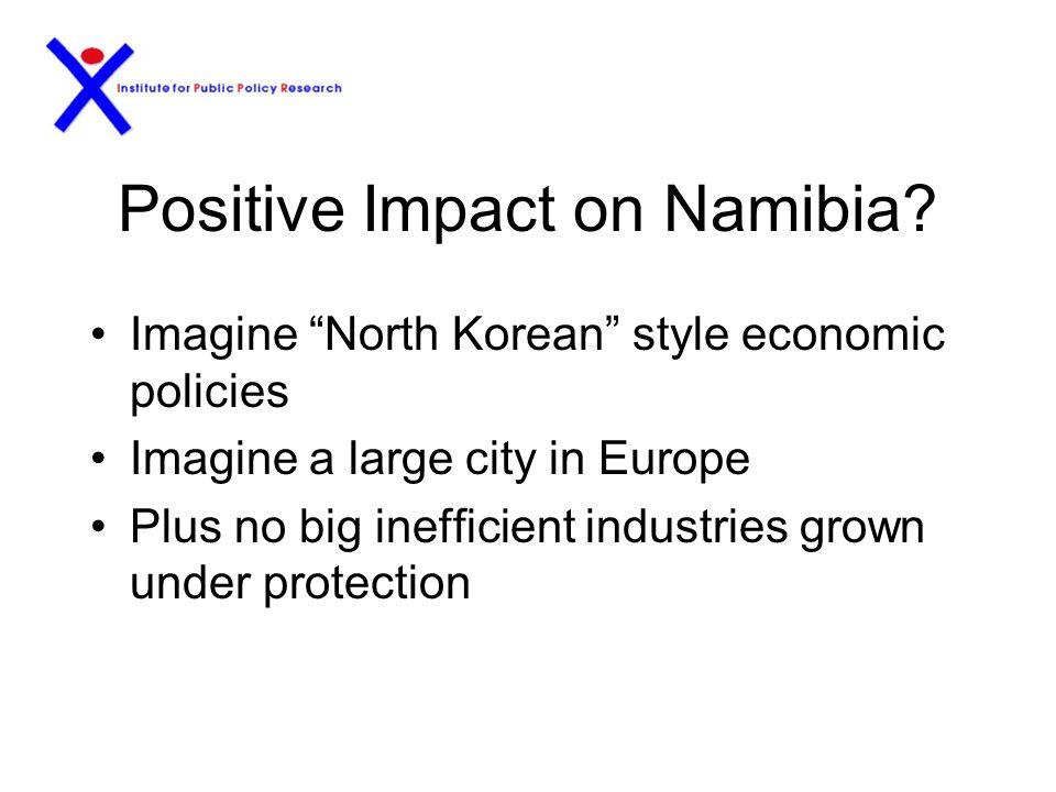 Impact on Namibia.