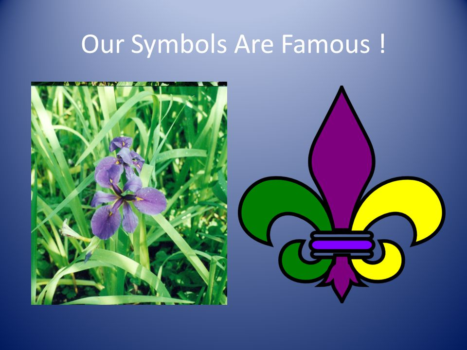 Our Symbols Are Famous !