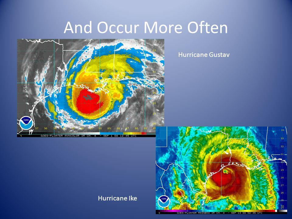 And Occur More Often Hurricane Gustav Hurricane Ike