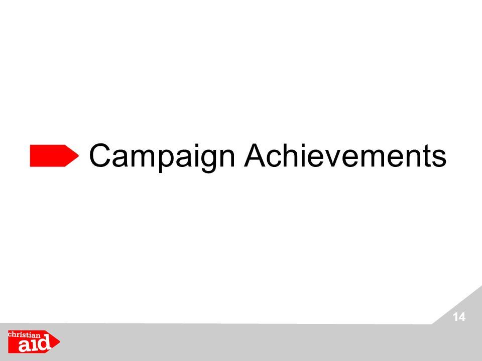 14 Campaign Achievements