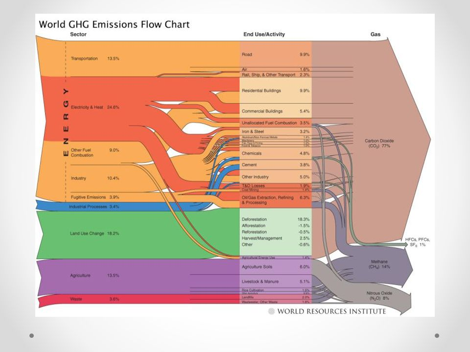 CO 2 Emissions by food Source: Environmental Working Group