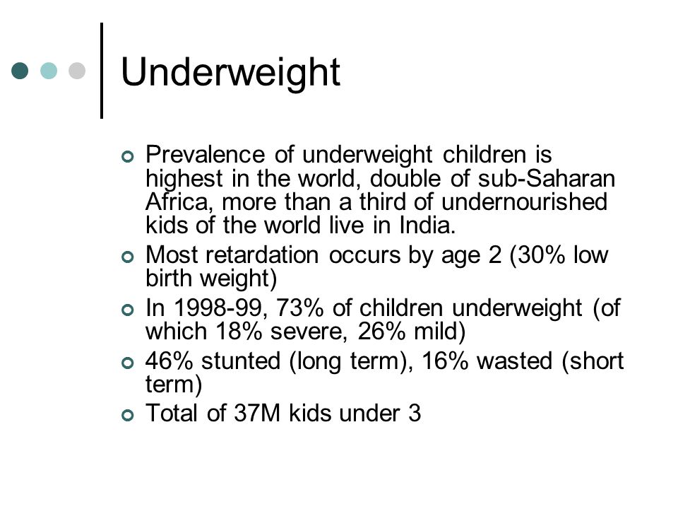 South Asian Enigma People puzzled that south Asian countries have worse incidence of malnutrition than Africa.