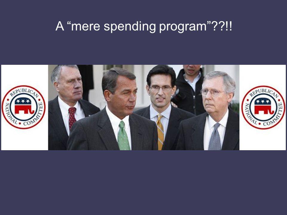 A mere spending program !!