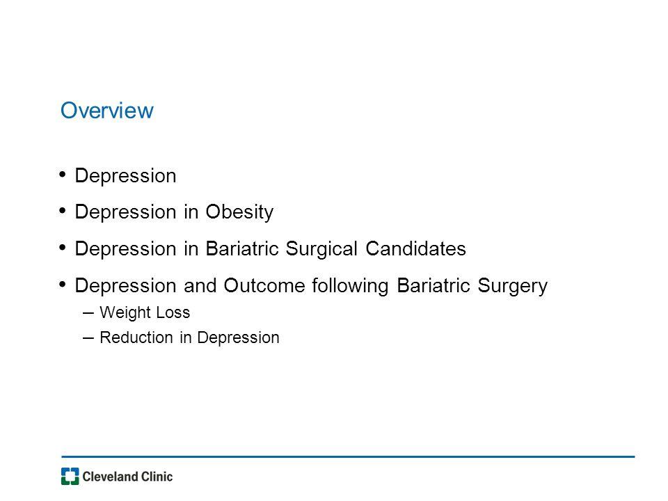 Effect of RYGB on depression and quality of life (Masheb, 2007)