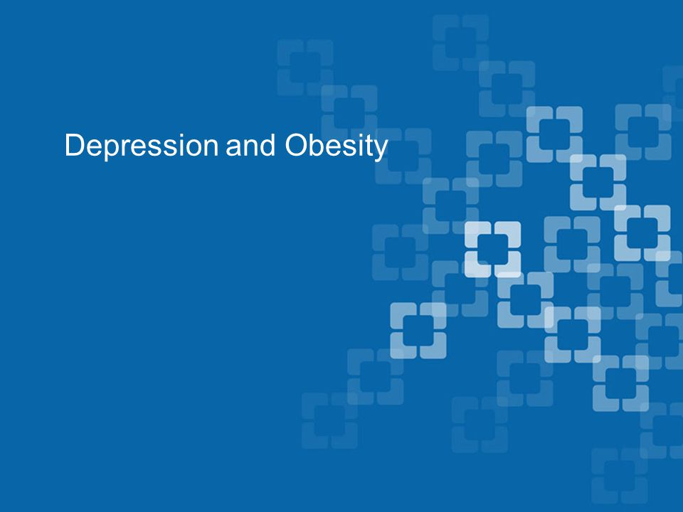 Depression and Obesity