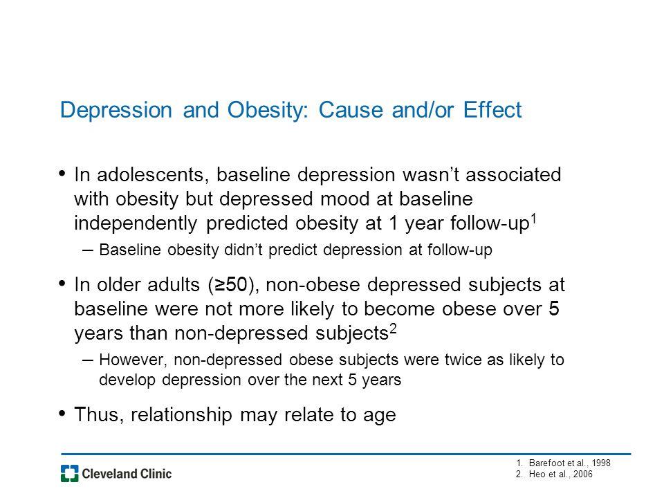 Behavioral predictors of weight regain (≥15% from nadir) post-RYGB (Odum et al., 2009) Baseline Depression Score