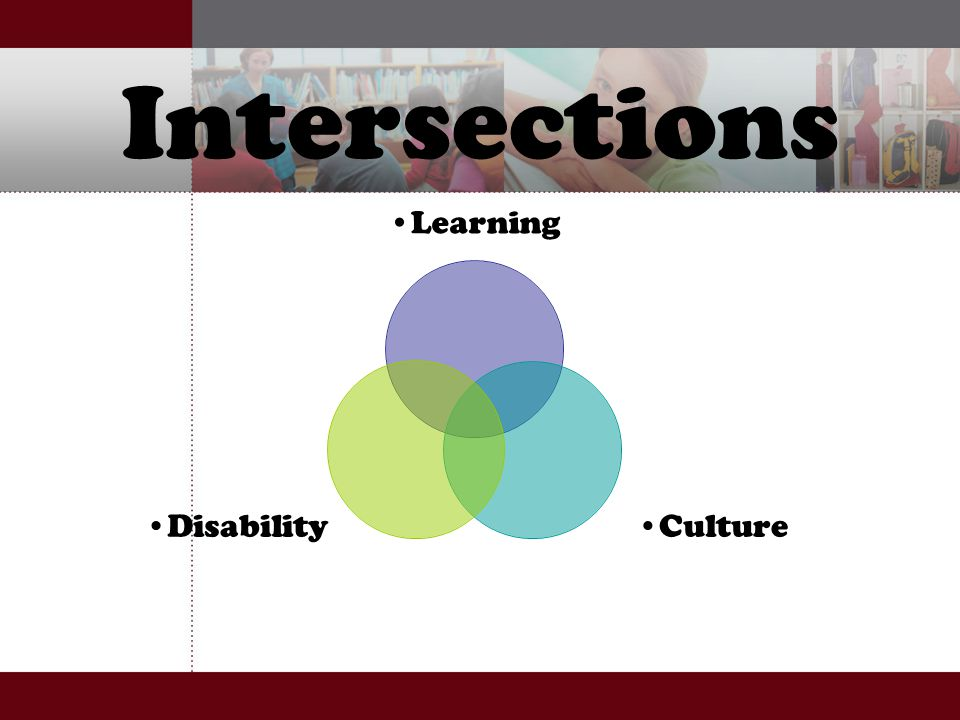 Intersections Learning CultureDisability