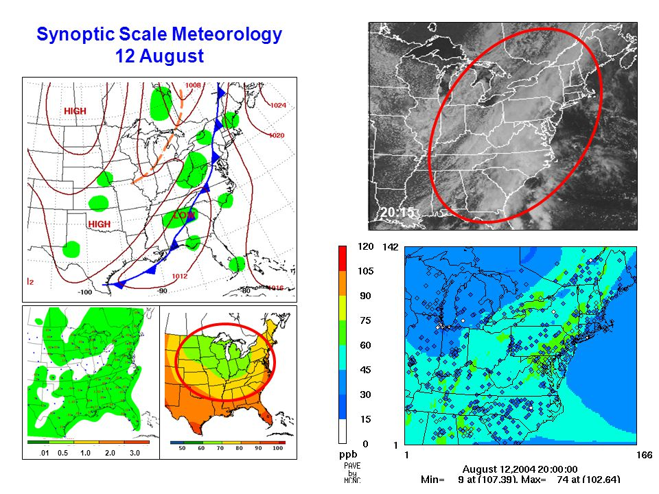 Synoptic Scale Meteorology 12 August.01 0.5 1.0 2.0 3.0 20:15