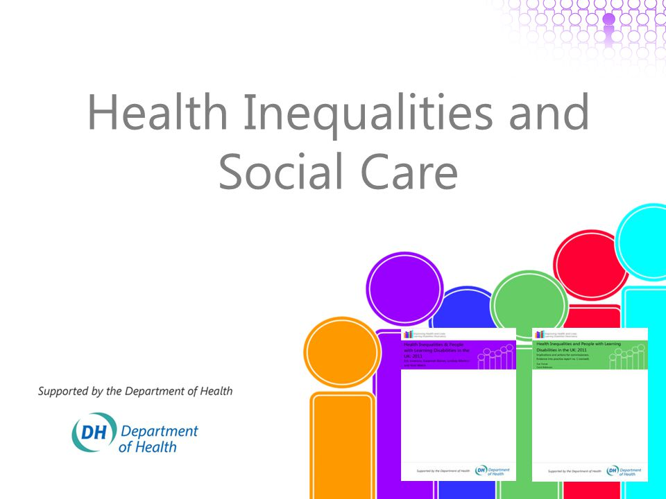 Health Inequalities and Social Care