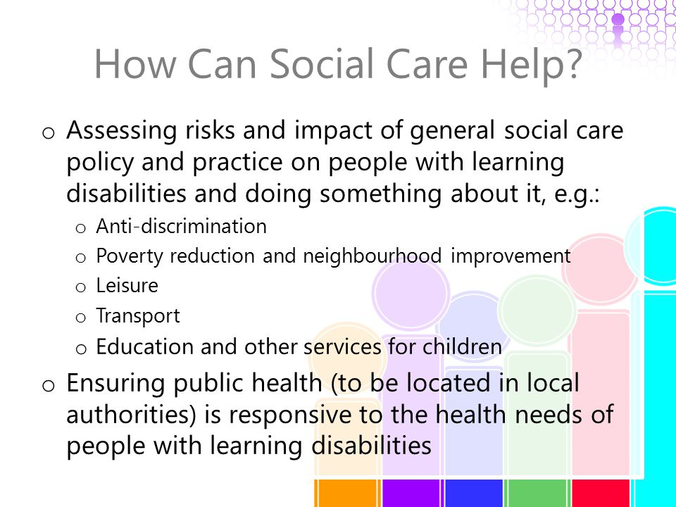 How Can Social Care Help.