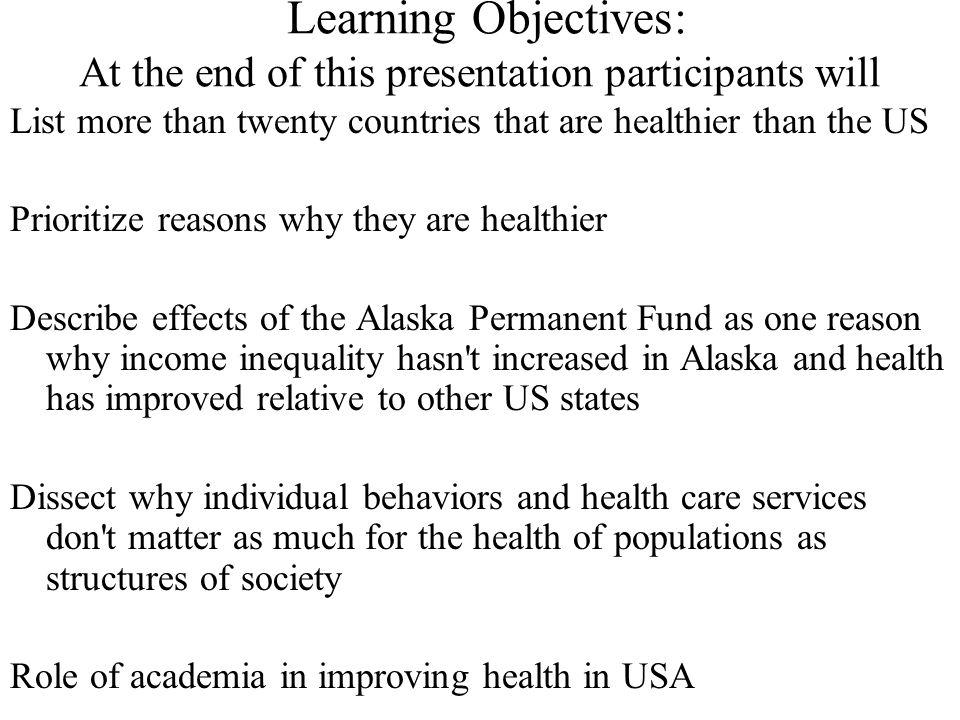 Ross et. al. BMJ 2000 BETTER HEALTH MORE EQUALITY