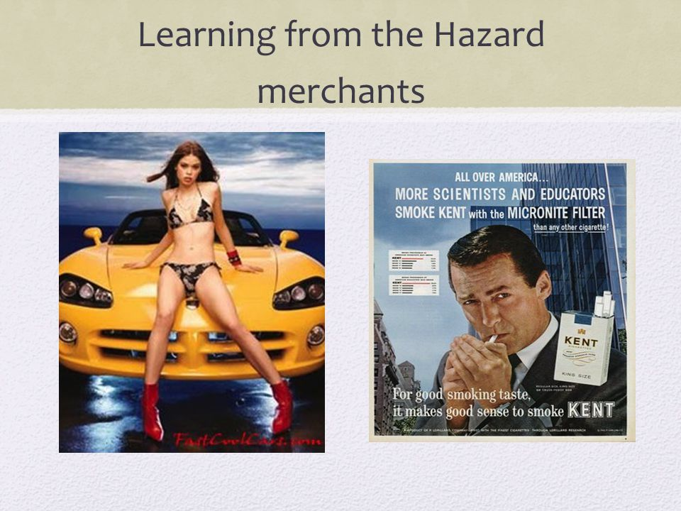 Learning from the Hazard merchants