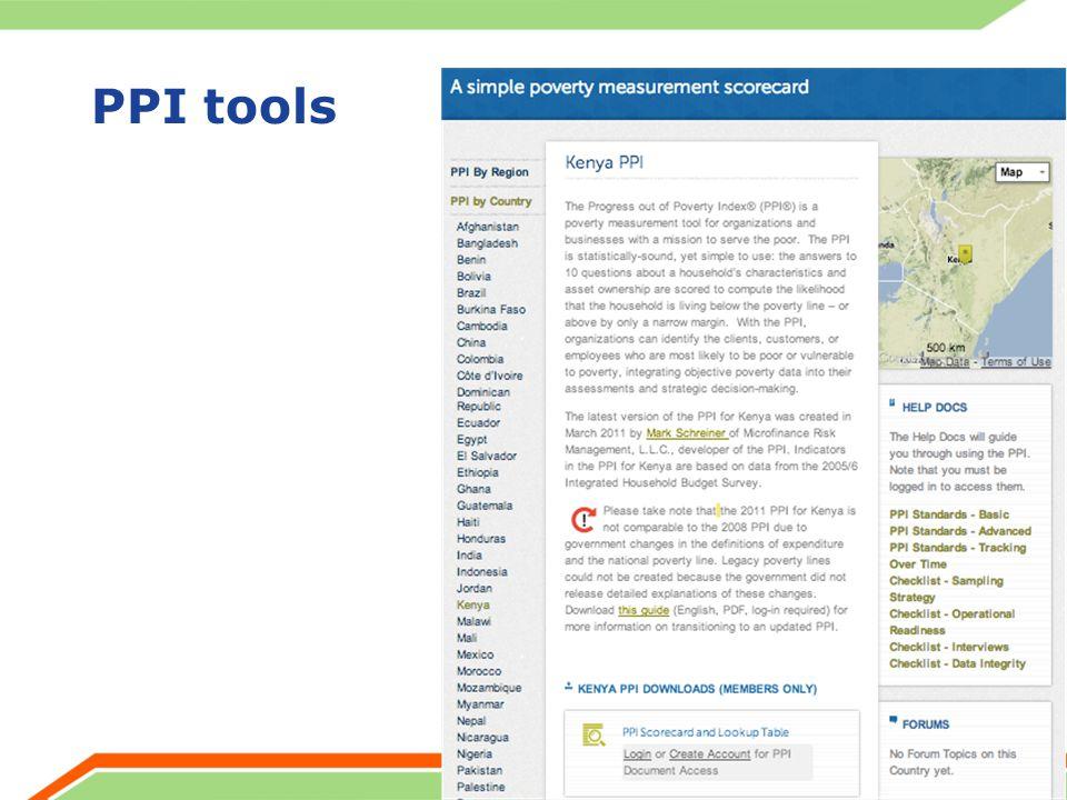 PPI tools