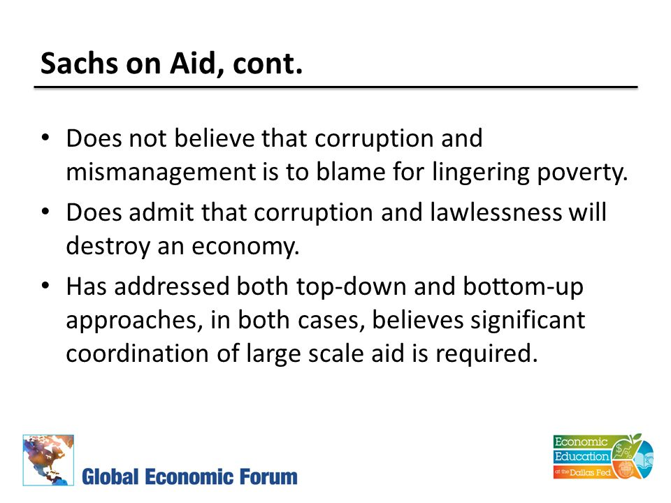 Sachs on Aid, cont.
