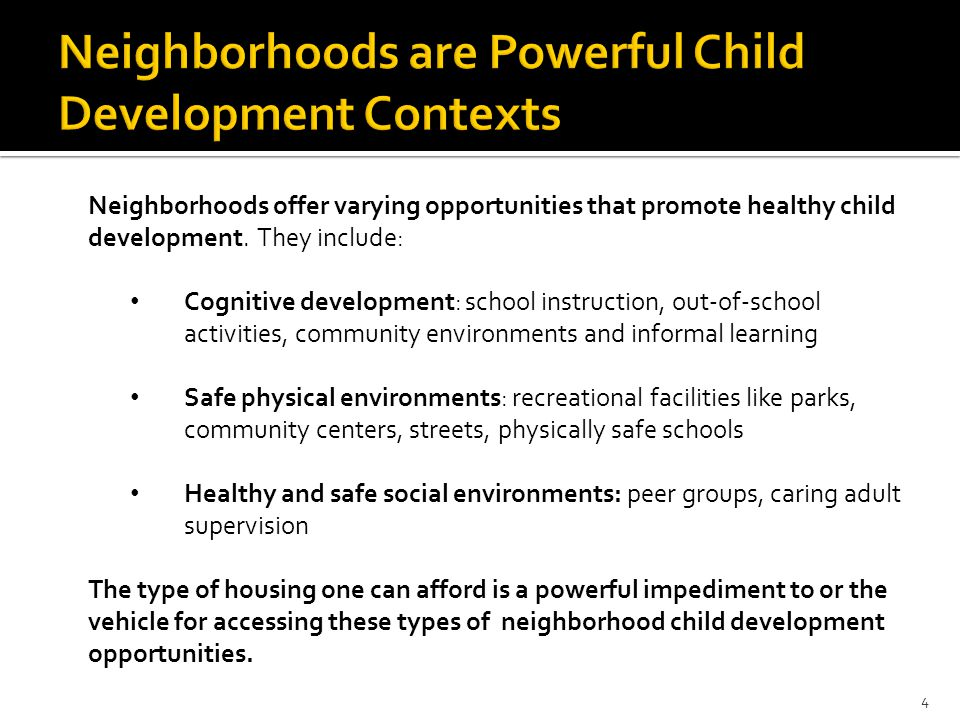 FINDINGS: If you look at the range of neighborhoods that White children live in in the 100 largest metro areas in 2000, and you compared them to Black and Latino children, you'd find that… 76 percent of Black and 69 percent of Latino children lived in poorer neighborhoods than the neighborhoods of the 25 percent worst-off White children.