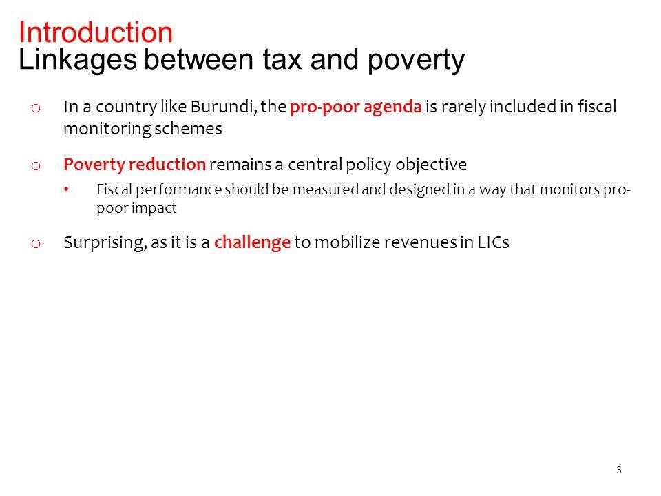 2.Burundi: tax side 3. Burundi: spending4. Suggested indicators 1.