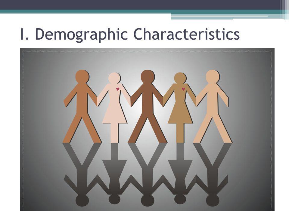I. Demographic Characteristics