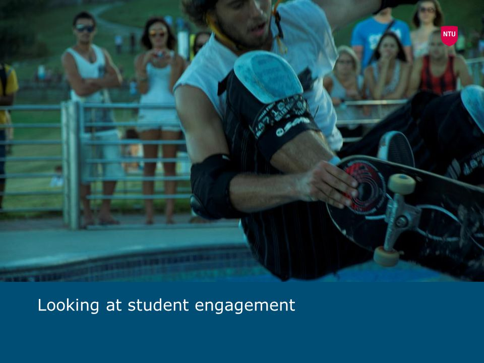Looking at student engagement
