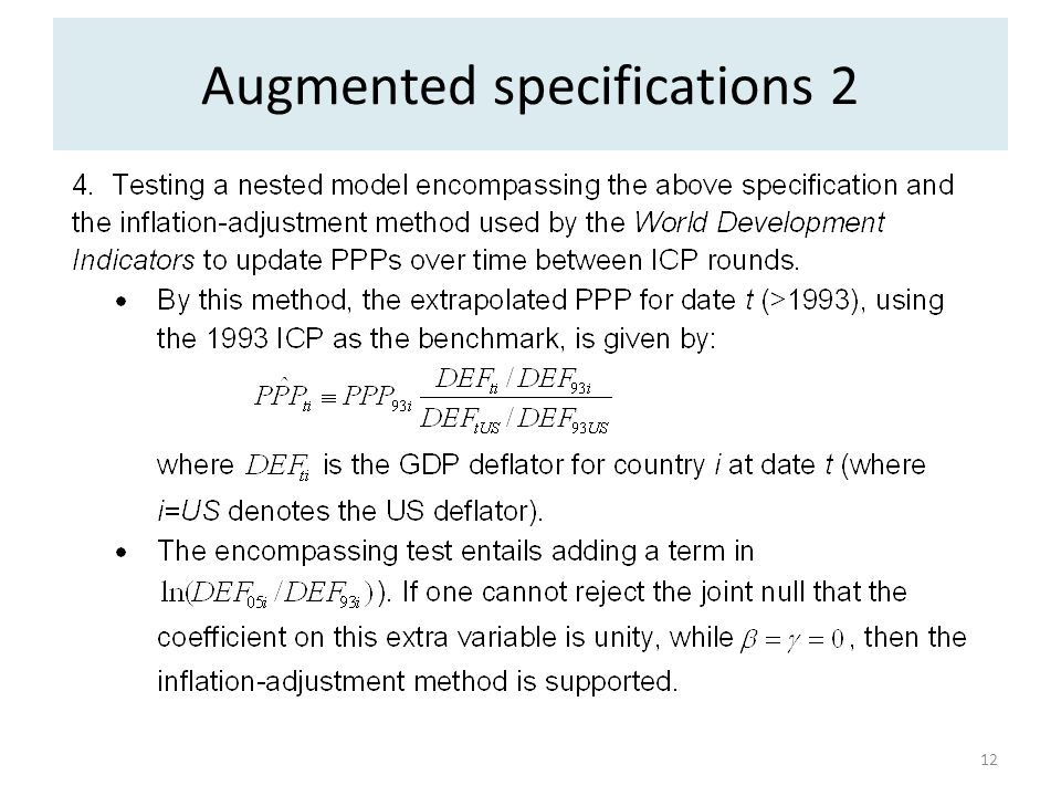 Augmented specifications 2 12