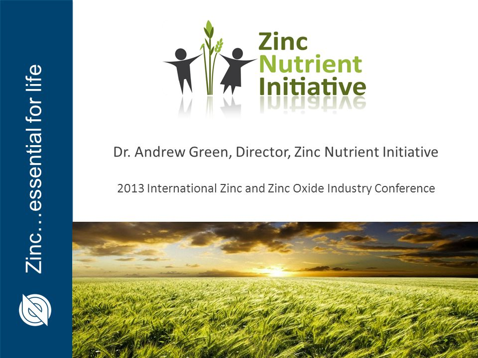 Zinc…essential for life Dr.