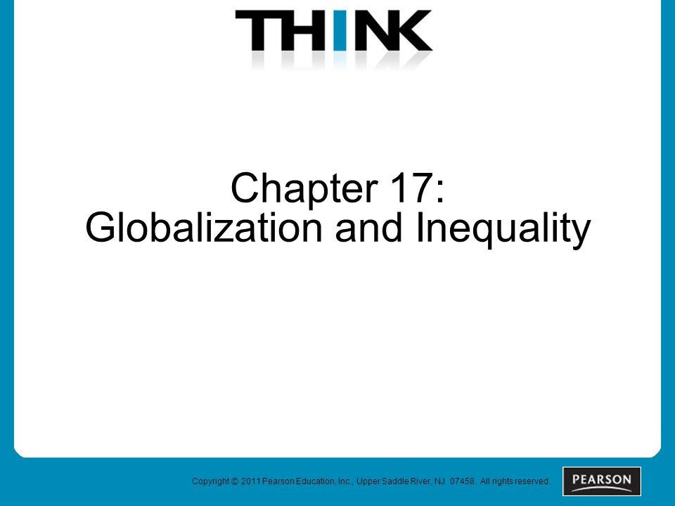 Chapter 17: Globalization and Inequality