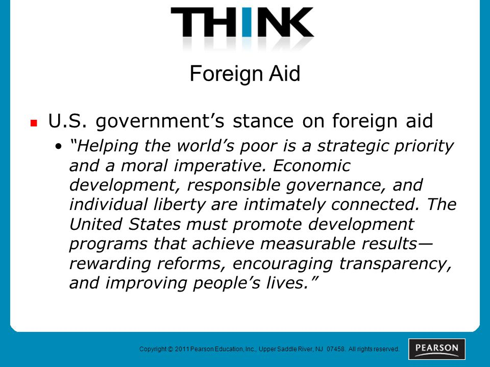 Foreign Aid U.S.