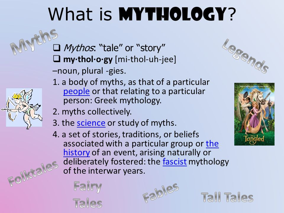 What is Mythology .