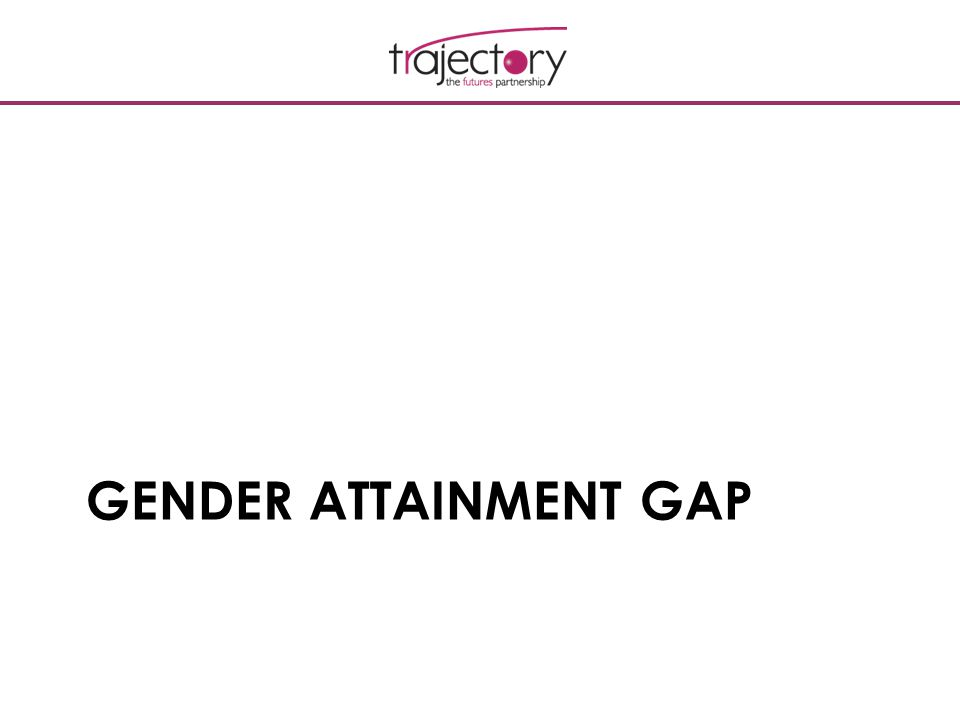 GENDER ATTAINMENT GAP