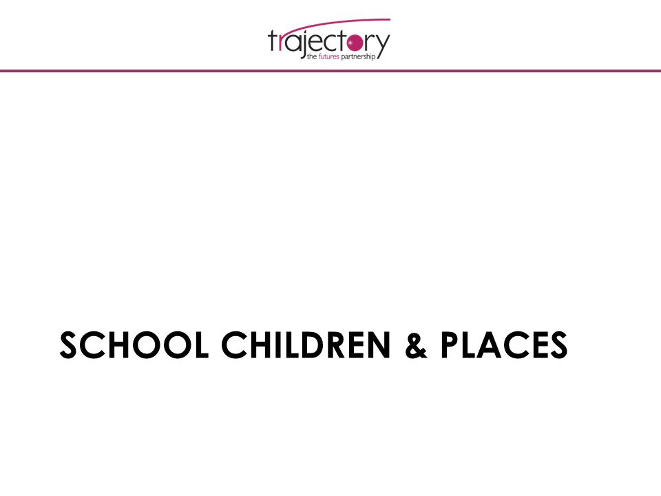 SCHOOL CHILDREN & PLACES