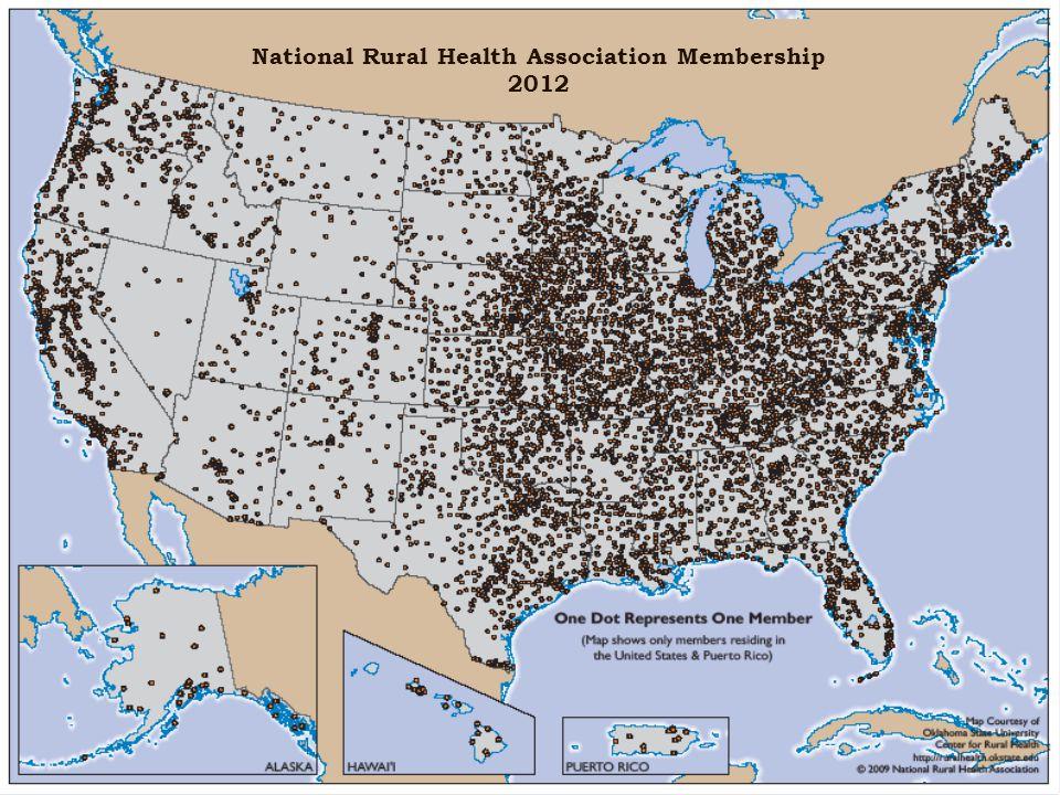 National Rural Health Association Membership 2012