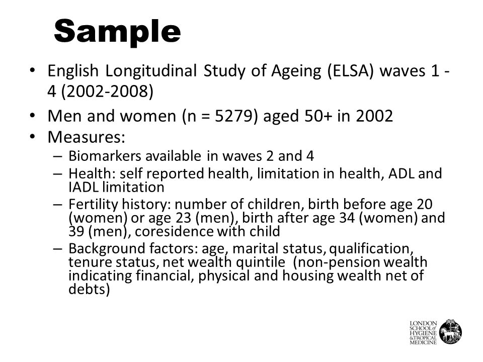 Is the association between fertility history and health mediated by allostatic load.