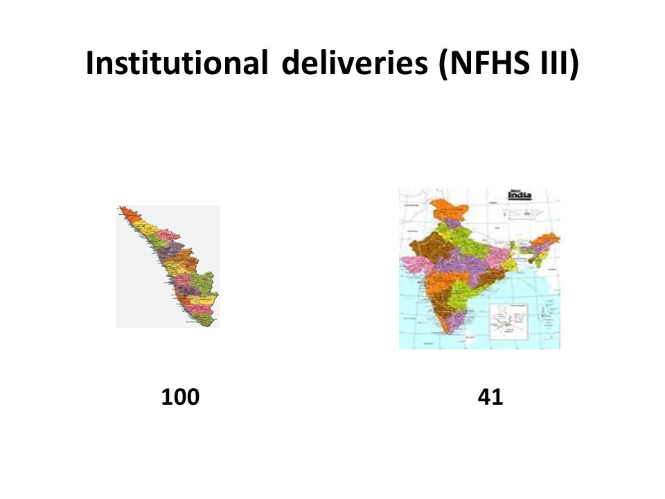 Institutional deliveries (NFHS III) 10041