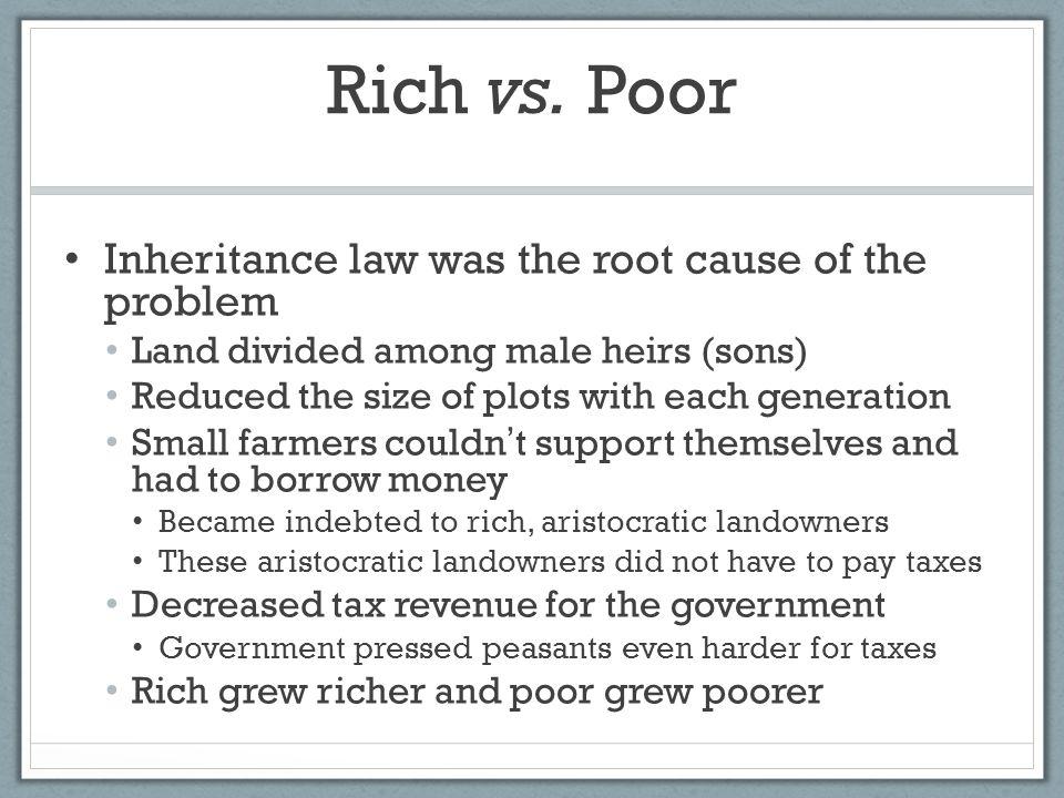 Rich vs.