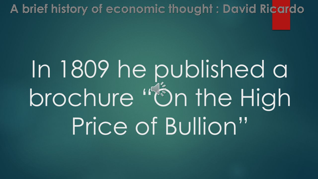 """He was impressed by Adam Smith's book """"An Inquiry into the Nature and Causes of the Wealth of Nations"""""""