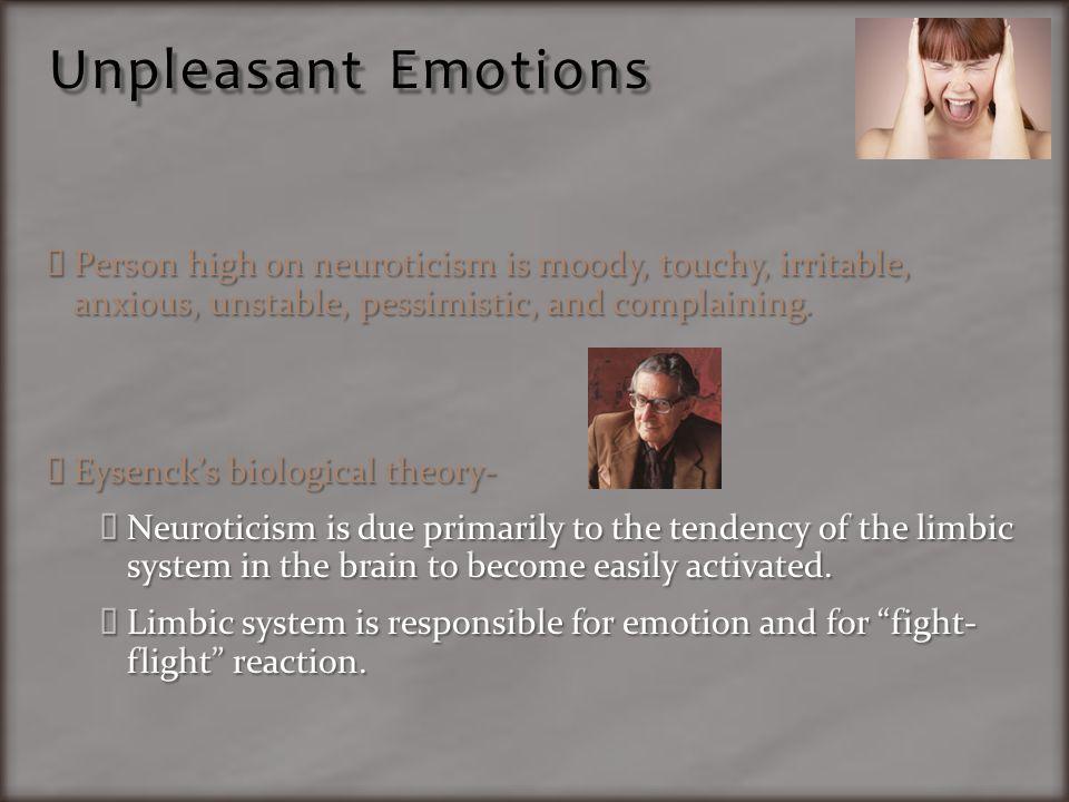 Unpleasant Emotions