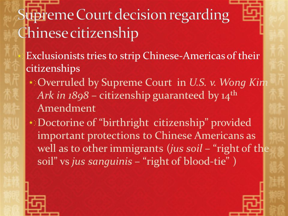 1) Who was unsettled by the Chinese immigration.2) What action was taken against the Chinese.
