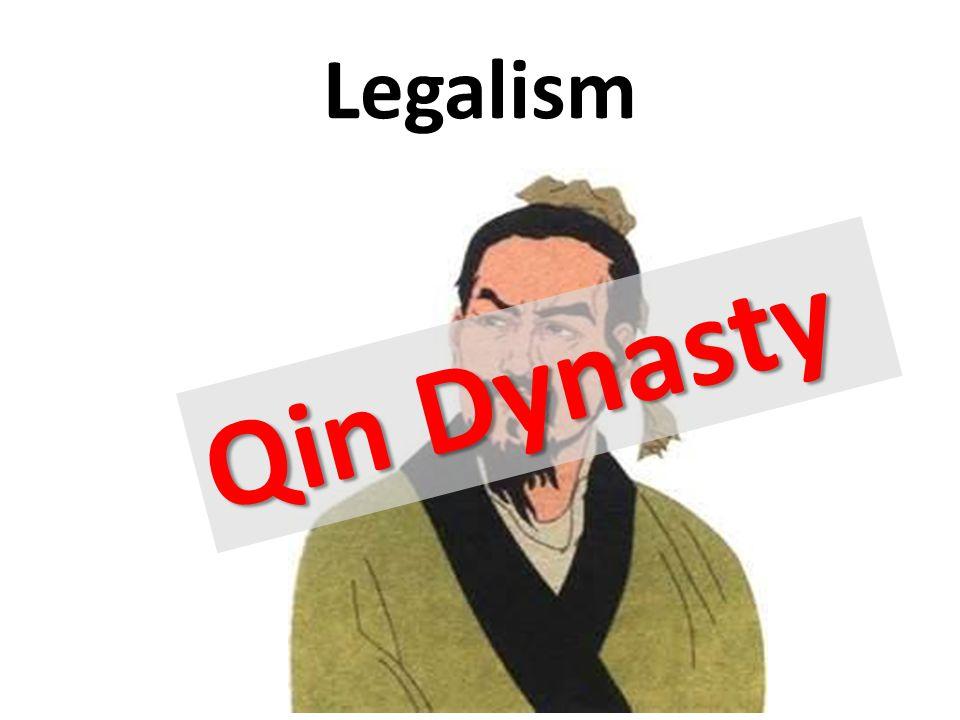 Legalism Qin Dynasty