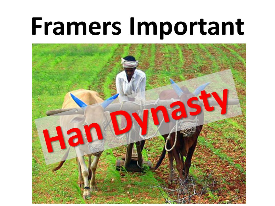 Framers Important Han Dynasty