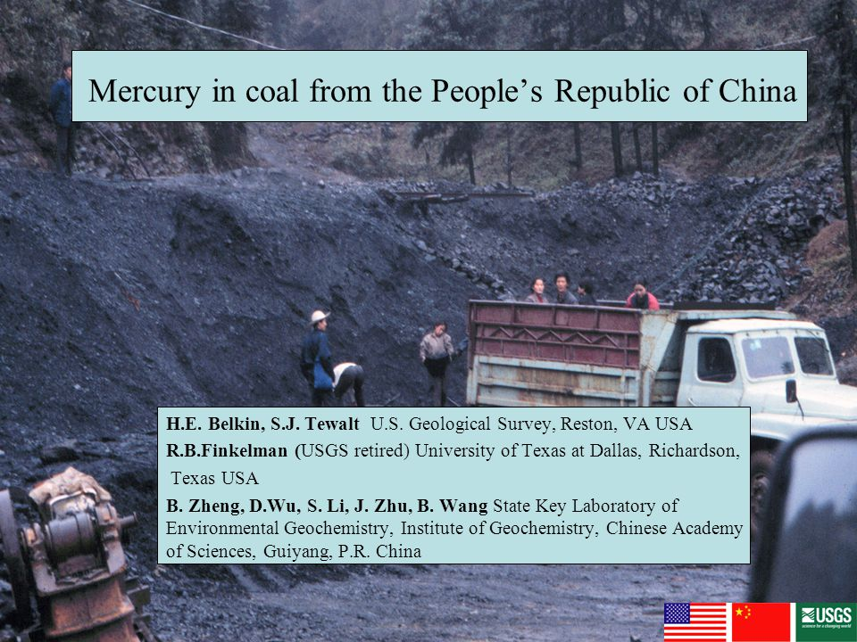 Why study Hg in Chinese coal.