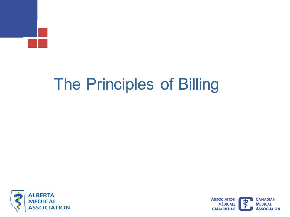 The Principles of Billing