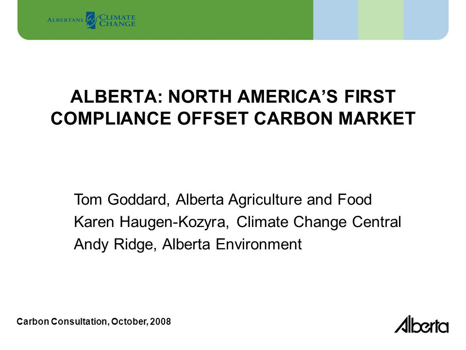 Outline Context Regulatory Framework Offset System – Tillage offset First Compliance Period Conclusions