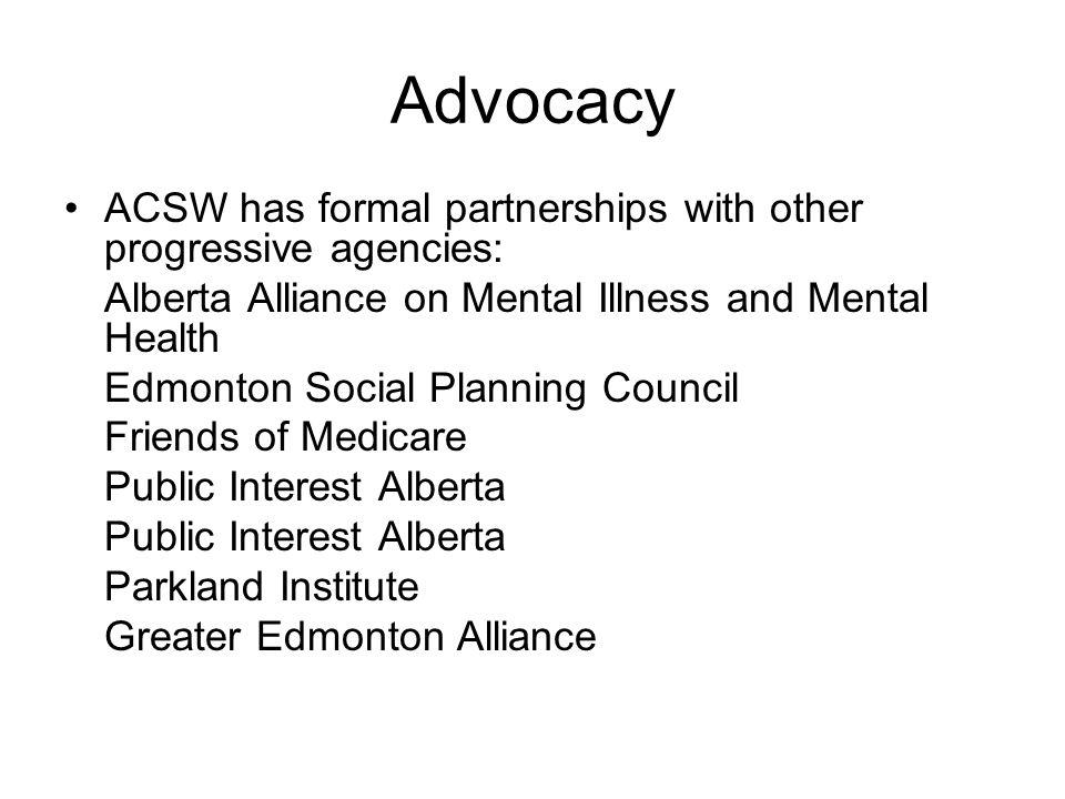 Initiatives… Poverty No More (Who Cares Alberta?) Closing the Disparity Gap Campaign Media