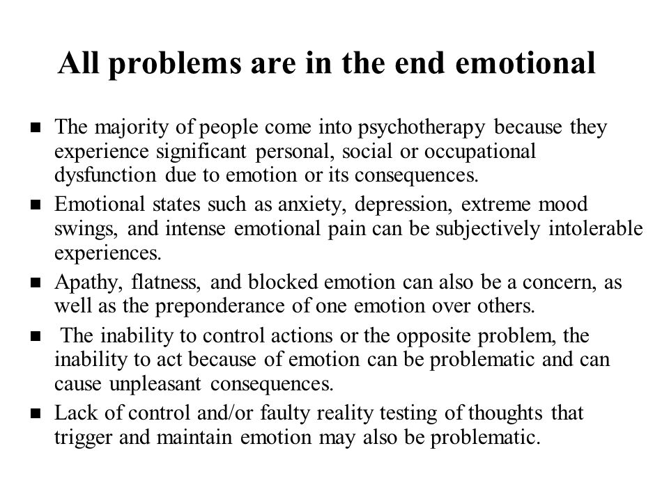 Emotional arousal One possible marker of emotional experience can be inferred from emotional arousal.