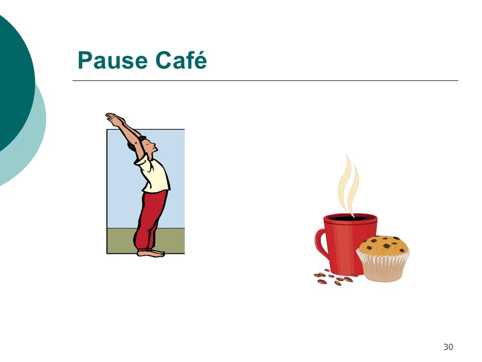 30 Pause Café