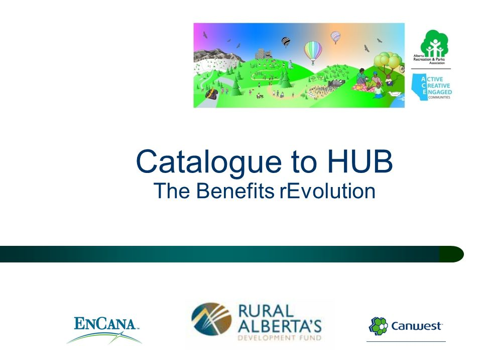 Catalogue to HUB The Benefits rEvolution