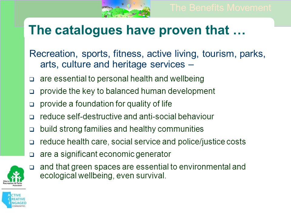 The Benefits Movement