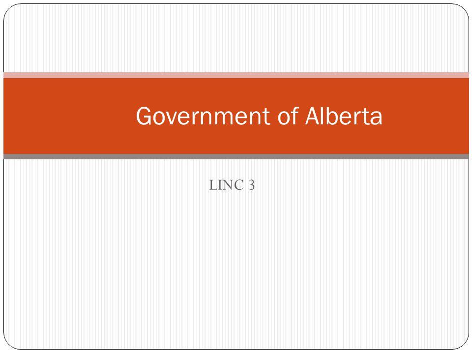 LINC 3 Government of Alberta