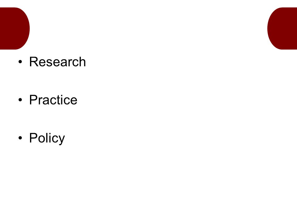 Research Practice Policy